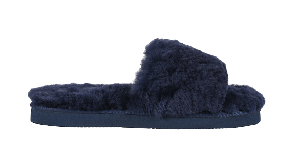 navy blue slipper slides for mothers day