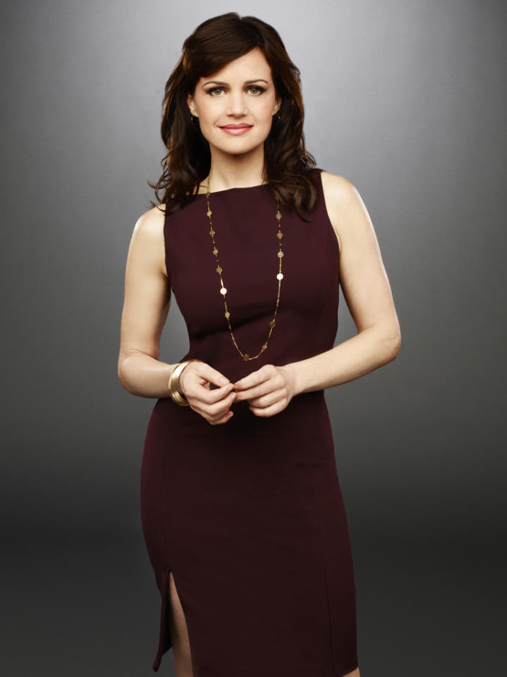 """<p class=""""MsoNormal"""">""""Californication"""" and """"Entourage"""" star Carla Gugino plays Susan Berg, a political reporter who has dug up many juicy stories about the Hammond family, which doesn't exactly endear her to Elaine. She's very career driven, and she's resourceful, building alliances where she can. While Elaine and Susan often butt heads, they are also drawn to each other and form what seems to be a friendship. She's also newly single, as her boyfriend/boss bedded a rival reporter.</p>"""