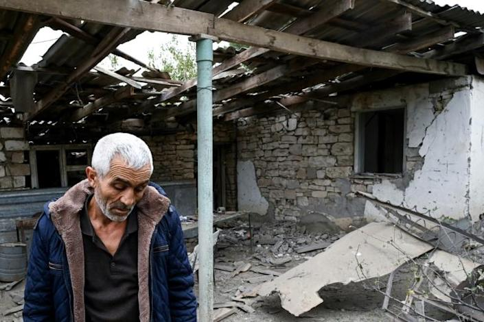 The Karabakh city of Martuni is among the places that have been heavily shelled