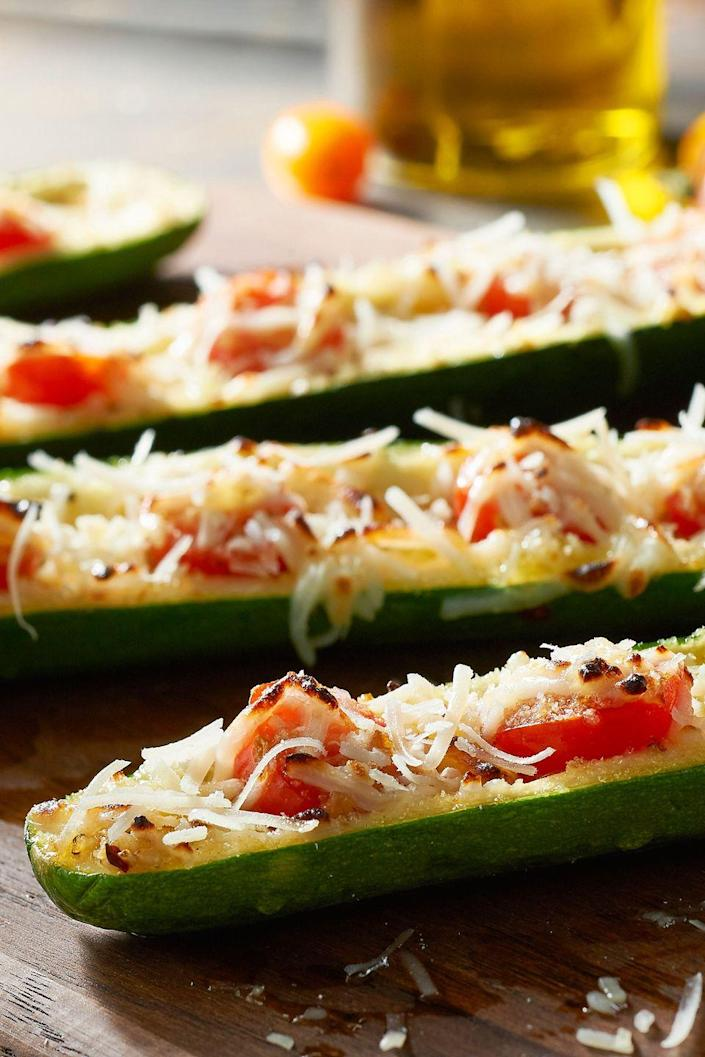 "<p>Kids will go wild for this fresh and healthy creation featuring nutrient-dense zucchini and tomatoes, along with a light dusting of breadcrumbs.</p><p><strong>Get the recipe on <a href=""https://urldefense.proofpoint.com/v2/url?u=http-3A__freshthyme.com_recipes_caprese-2Dzucchini-2Dboats_&d=DwMFaQ&c=B73tqXN8Ec0ocRmZHMCntw&r=h5DPJq7gSId3tCAFZnuSQSCLjUu37AqhsTJ1ltcAu2s&m=8-gytj9ABW-KMr_TP_nbMovgvhUic09vlmKZ5L2fc3E&s=0j-PQDbOmEYp5Qx3H3IPXtVcDlUP6QzW_ge0x-ljr34&e="" rel=""nofollow noopener"" target=""_blank"" data-ylk=""slk:Fresh Thyme Farmers Market"" class=""link rapid-noclick-resp"">Fresh Thyme Farmers Market</a>.</strong></p>"