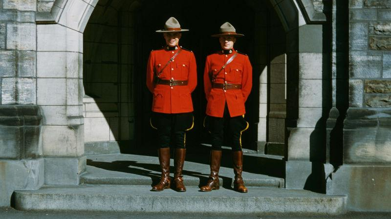 Two Mounties ca 1960