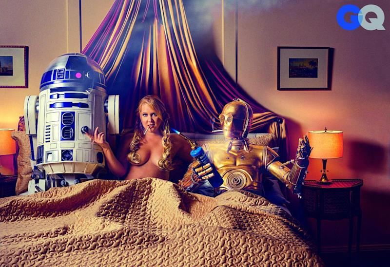 . Amy Schumer Gets Kinky With C 3PO   R2 D2