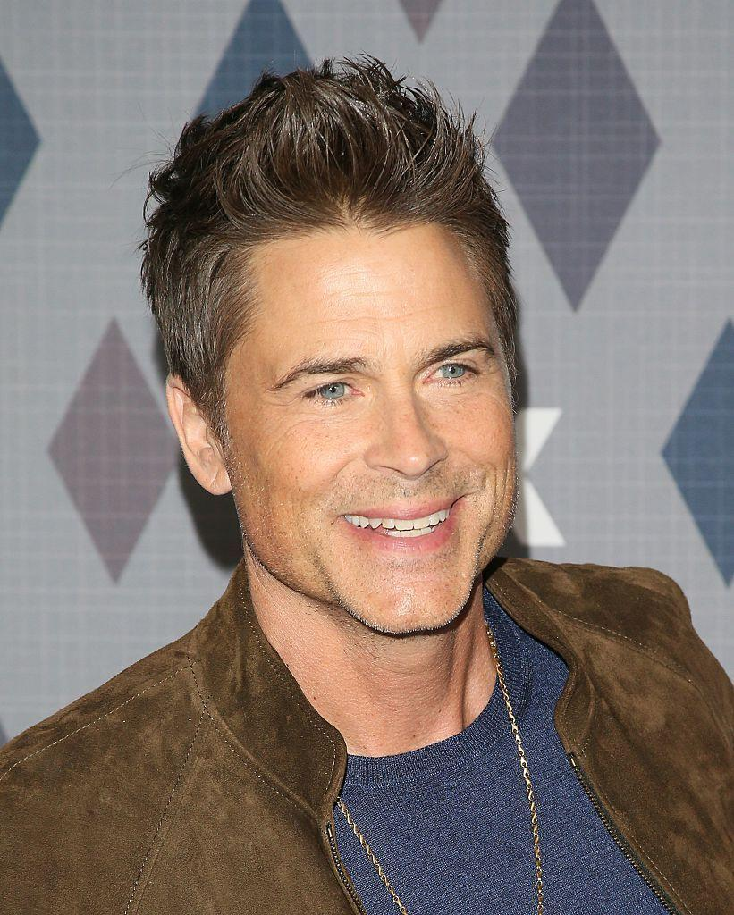 """<p>Lowe put down the bottle for good 28 years ago (even if he doesnt' appear to have aged much since then). In an <a href=""""https://www.menshealth.com/fitness/a25727444/rob-lowe-diet-workout-aging-interview/"""" rel=""""nofollow noopener"""" target=""""_blank"""" data-ylk=""""slk:interview with Men's Health"""" class=""""link rapid-noclick-resp"""">interview with Men's Health</a>, Lowe said exercise played a key role in his recovery. </p>"""