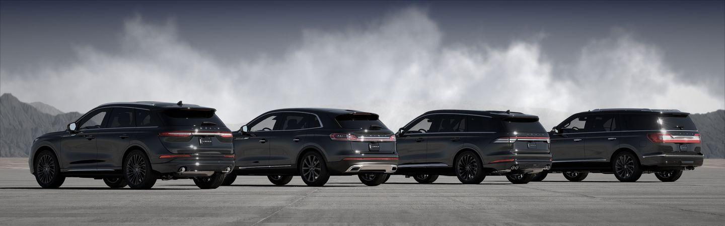 Lincoln S Suv Lineup Goes Monochrome