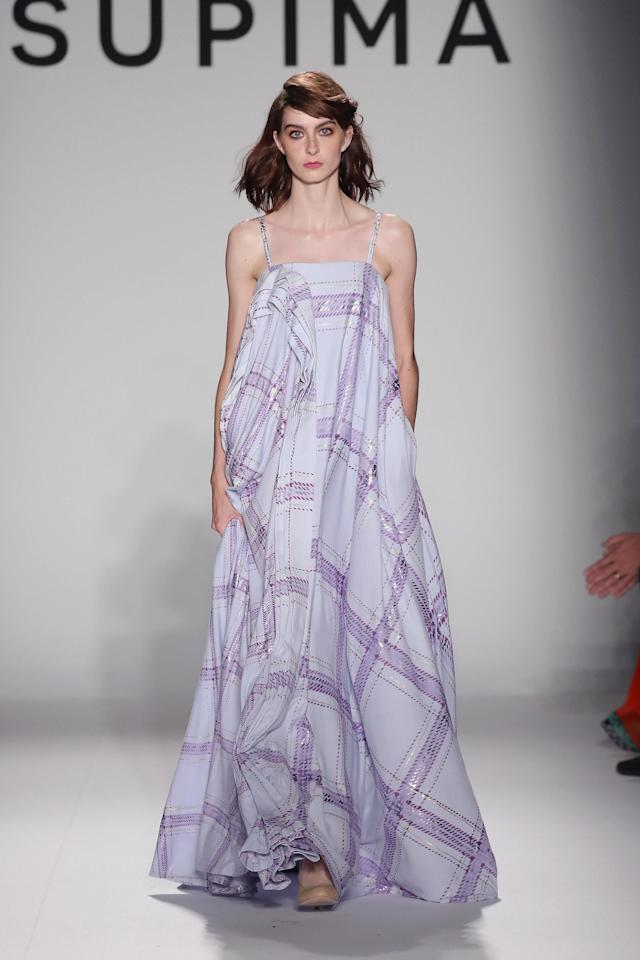 During the Supima show at New York Fashion Week on Sept. 7. (JP Yim via Getty Images)