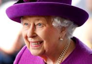 <p>Queen Elizabeth, visiting the Royal British Legion Industries village to celebrate the charity's centenary year.</p>