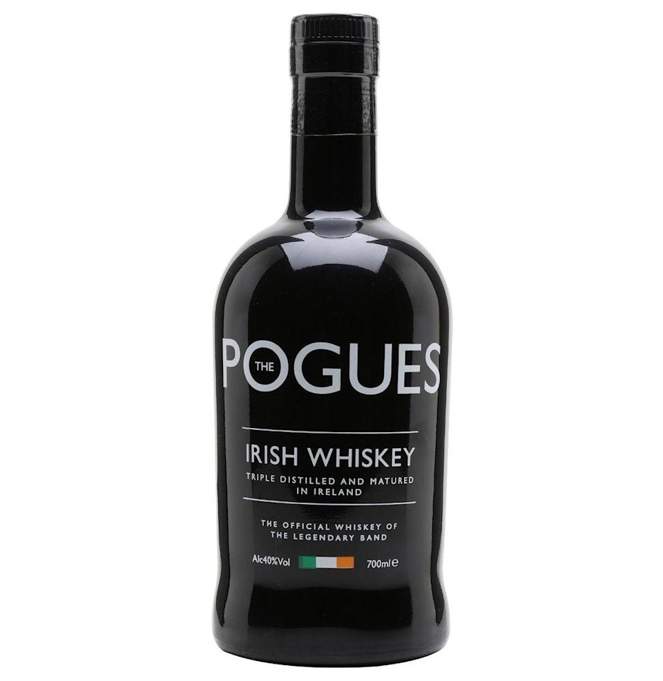 """<p><a class=""""link rapid-noclick-resp"""" href=""""https://go.redirectingat.com?id=74968X1596630&url=https%3A%2F%2Fwww.totalwine.com%2Fspirits%2Firish-whiskey%2Fthe-pogues-irish-whiskey%2Fp%2F173639750&sref=https%3A%2F%2Fwww.redbookmag.com%2Flife%2Fg37608698%2Fbest-celebrity-liquors%2F"""" rel=""""nofollow noopener"""" target=""""_blank"""" data-ylk=""""slk:Shop"""">Shop</a> <em>totalwine.com</em></p><p>This Celtic punk band, whose members are now in their 60s, claim their 10-year-old single malt and 7-year-old Irish whiskey are for drinking when """"mischief is made, and hell is raised."""" Hopefully no hips are broken in the process.<br> <strong><br></strong><em><strong>Taste:</strong> </em>6<strong><br></strong><em><strong>Star power:</strong> </em>3<strong><br></strong><em><strong>Shamelessness:</strong> </em>3<br></p>"""
