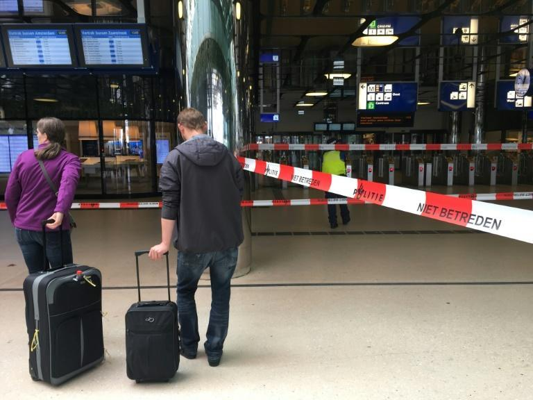Two platforms at the station were evacuated and closed off to passengers