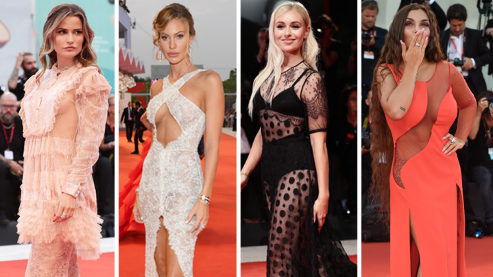 Naked dresses reign on Venice Film Festival red carpet. Photo: Getty Images.