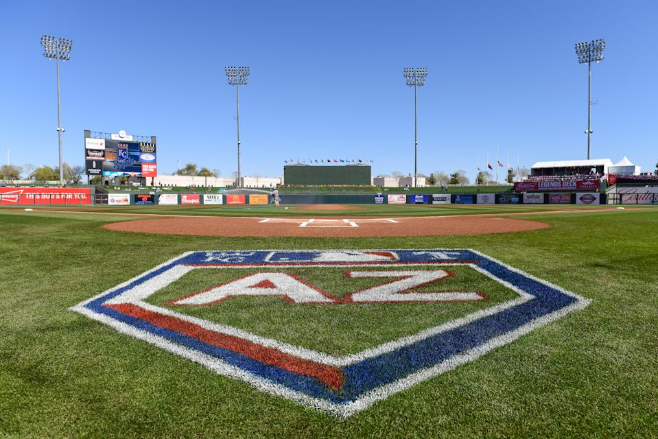 MLB players have mixed feelings on possible quarantined season in Arizona. (Photo by Jennifer Stewart/Getty Images)