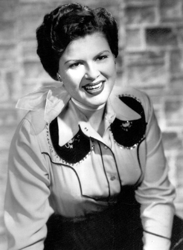 Country singer and recording star Patsy Cline is shown in this undated photo.  Patsy Cline died in a plane crash on March 5, 1963.  (AP Photo)