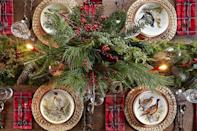 """<p>Between wrapping gifts and preparing <a href=""""https://www.countryliving.com/food-drinks/g635/holiday-recipe-book-1108/"""" rel=""""nofollow noopener"""" target=""""_blank"""" data-ylk=""""slk:Christmas dinner"""" class=""""link rapid-noclick-resp"""">Christmas dinner</a>, you may not be thinking about <a href=""""https://www.countryliving.com/home-design/decorating-ideas/advice/g1247/holiday-decorating-1208/"""" rel=""""nofollow noopener"""" target=""""_blank"""" data-ylk=""""slk:Christmas decorations"""" class=""""link rapid-noclick-resp"""">Christmas decorations</a>. But the answer to your time-strapped prayers is as simple as getting a set of Christmas placemats. These rectangular and round Christmas placemats serve as the perfect base for special holiday chargers and silverware, and will complement any <a href=""""https://www.countryliving.com/diy-crafts/g644/christmas-tables-1208/"""" rel=""""nofollow noopener"""" target=""""_blank"""" data-ylk=""""slk:Christmas centerpieces"""" class=""""link rapid-noclick-resp"""">Christmas centerpieces</a> you set out. There are even options to complement your favorite vintage <a href=""""https://www.countryliving.com/shopping/gifts/g33633781/christmas-china-patterns/"""" rel=""""nofollow noopener"""" target=""""_blank"""" data-ylk=""""slk:Christmas china pattern"""" class=""""link rapid-noclick-resp"""">Christmas china pattern</a> if that's the way you prefer to set your table! </p>"""