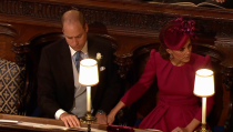 <p>When Prince William and Kate Middleton held hands thinking nobody was watching (but we were totally watching). </p>