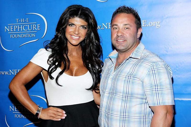 Teresa and Joe Giudice in 2012 | Steve Mack/FilmMagic