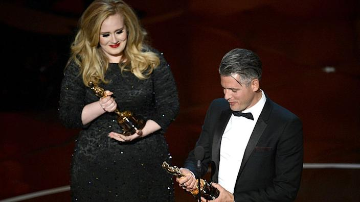 Epworth and Adele won Oscars in 2013 for composing the theme to Skyfall