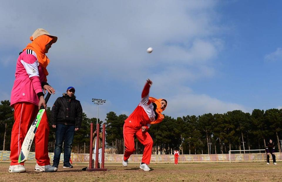 The Taliban will reportedly prevent women from playing sport (AFP via Getty Images)