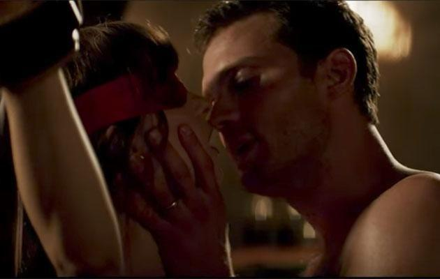 The movie follows the newly married BDSM-loving couple. Source: Universal