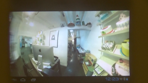 Bublcam view of an office