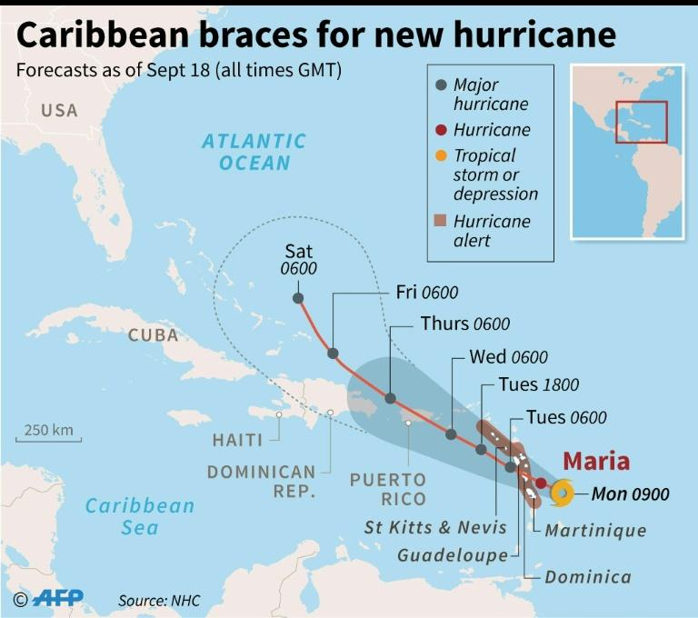 Will Hurricane Maria impact East Coast?