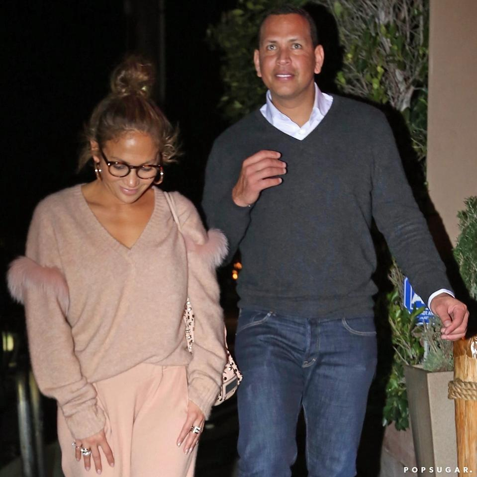 J Lo's Date Night Outfit Is the