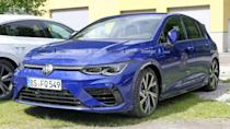 """<p>This <a href=""""https://www.motor1.com/volkswagen/golf-r/"""" rel=""""nofollow noopener"""" target=""""_blank"""" data-ylk=""""slk:Volkswagen Golf R"""" class=""""link rapid-noclick-resp"""">Volkswagen Golf R</a> wears very little camouflage. We expect the unveiling to be soon.</p> <h3><a href=""""https://www.motor1.com/news/431504/vw-golf-r-spy-shots/"""" rel=""""nofollow noopener"""" target=""""_blank"""" data-ylk=""""slk:Volkswagen Golf R Spied Looking Nearly Ready For A Debut"""" class=""""link rapid-noclick-resp"""">Volkswagen Golf R Spied Looking Nearly Ready For A Debut</a></h3> <br><a href=""""https://www.motor1.com/news/423131/2022-vw-gti-golf-r/"""" rel=""""nofollow noopener"""" target=""""_blank"""" data-ylk=""""slk:Wolfsburg-Built Mk8 VW GTI And Golf R Coming To US For 2022"""" class=""""link rapid-noclick-resp"""">Wolfsburg-Built Mk8 VW GTI And Golf R Coming To US For 2022</a><br><a href=""""https://www.motor1.com/news/414745/volkswagen-golf-r-nurburgring-video/"""" rel=""""nofollow noopener"""" target=""""_blank"""" data-ylk=""""slk:Watch 2021 VW Golf R Spied In Action At The Nürburgring"""" class=""""link rapid-noclick-resp"""">Watch 2021 VW Golf R Spied In Action At The Nürburgring</a><br>"""