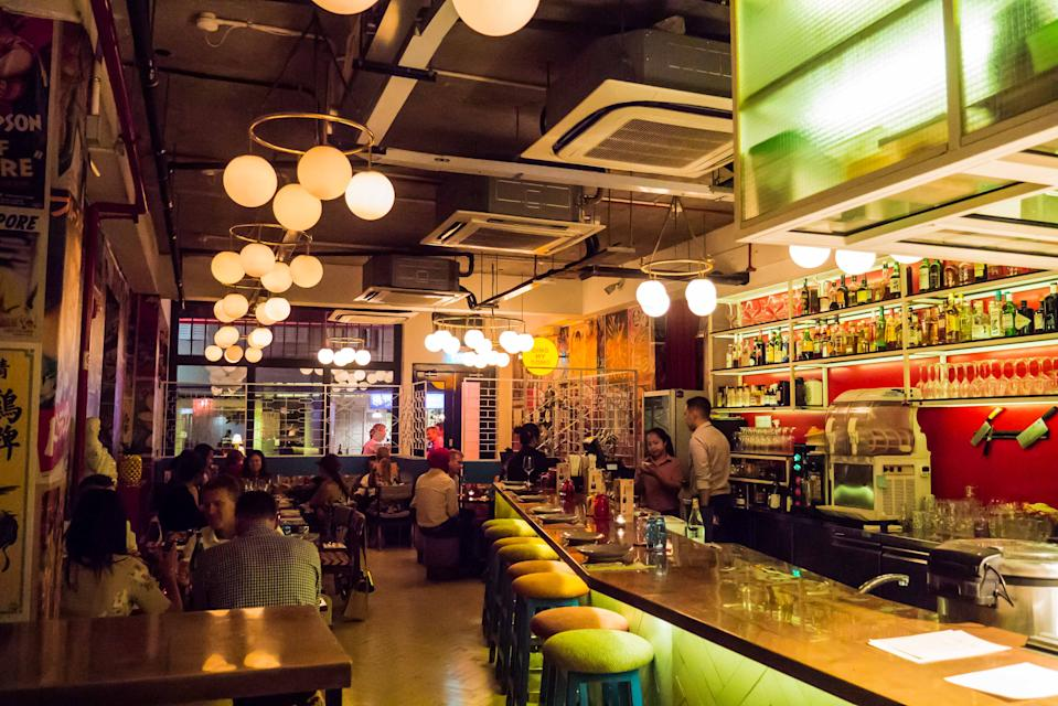 The interior of Ding Dong. (PHOTO: Zat Astha/Yahoo Lifestyle Singapore