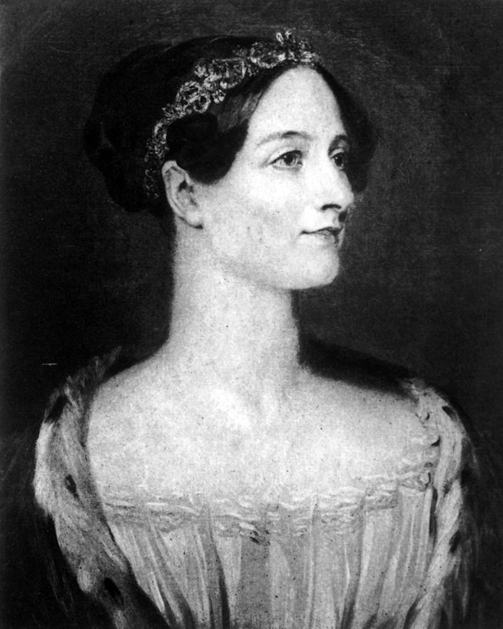 <p>Augusta Ada King-Noel, Countess of Lovelace, the daughter of the poet Lord Byron, was an English mathematician. Her code is now considered by many to be the world's first computer program, with the United States Department of Defense naming its own computer language ADA after her. (Photo: Hulton Archive/Getty Images) </p>