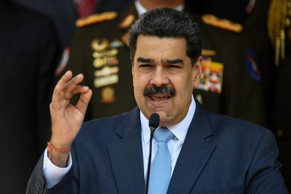 Mr Maduro became president of Venezuela following the death of Hugo Chavez in 2013 (AP)