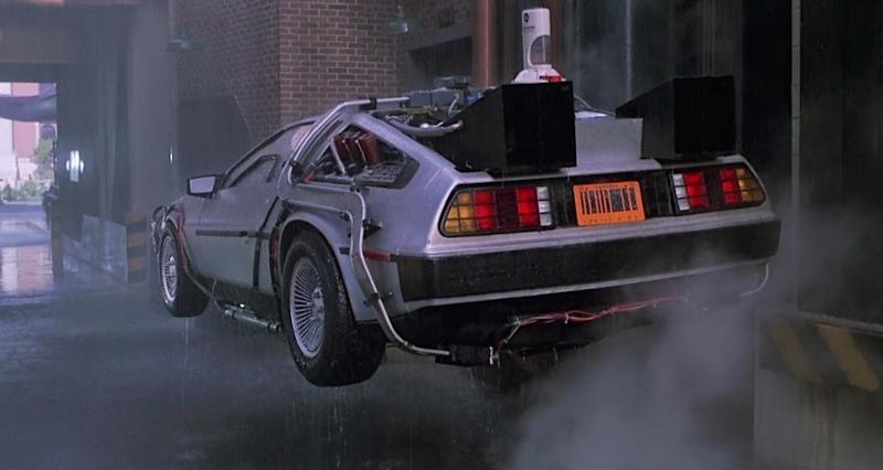 Back To The Future Style Flying DeLorean Take Skies Next Year