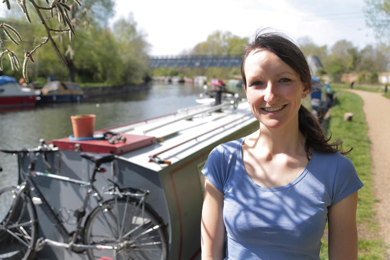 Anna Hughes (pictured), 38,  has made the decision not to have children in an effort to reduce her impact on the environment. (Supplied)
