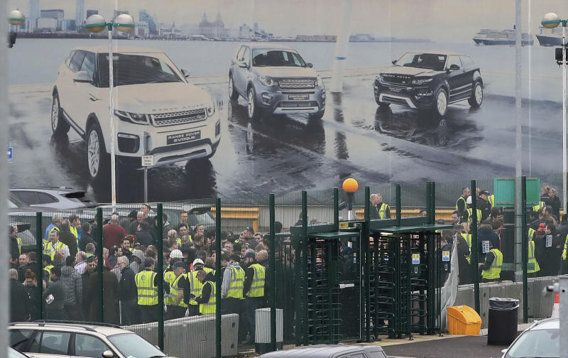 Jaguar Land Rover confirms 4,500 job cuts