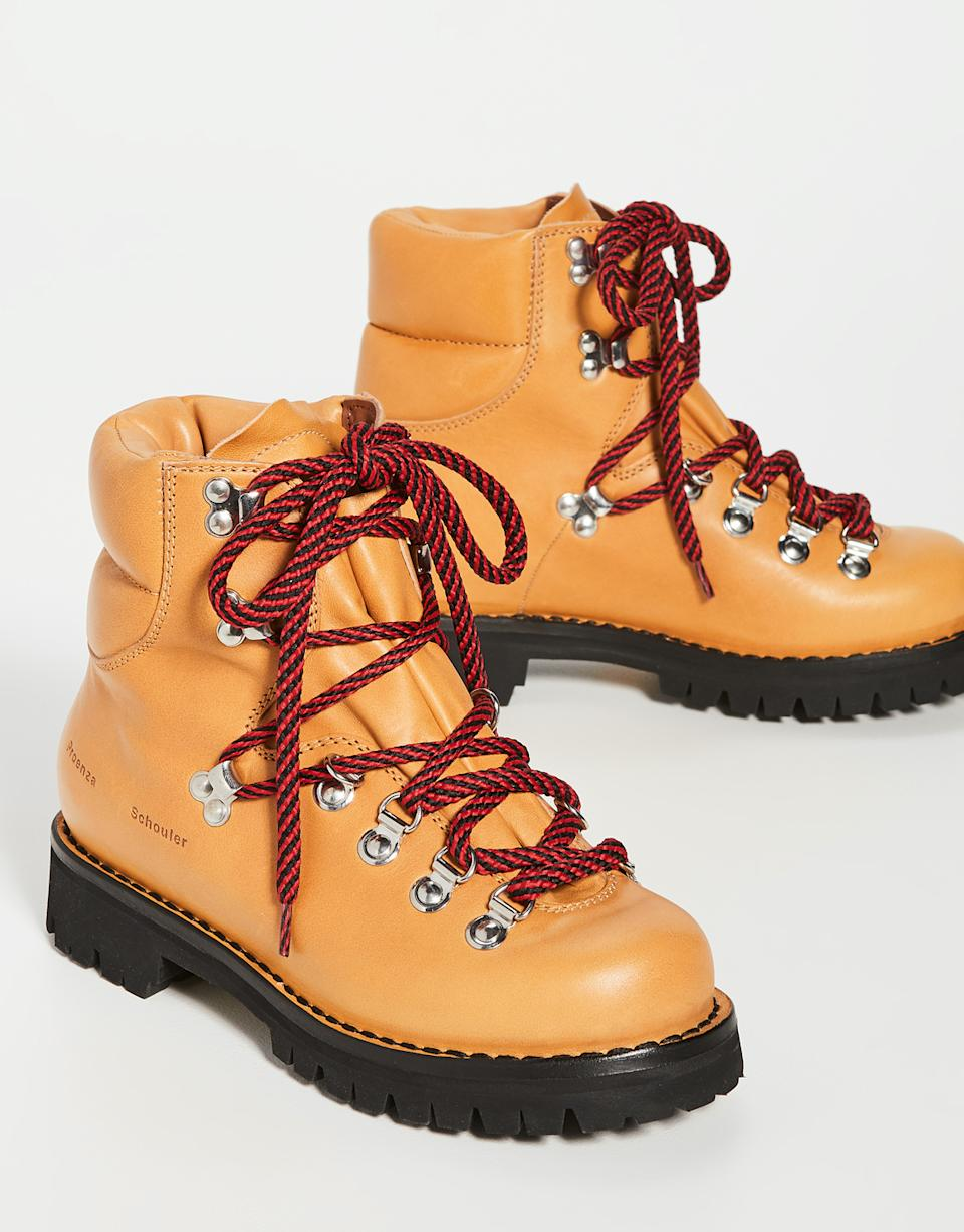 Proenza Schouler Hiking Boots. Image via Shopbop.
