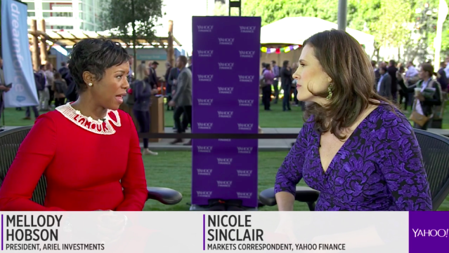 Mellody Hobson sits down with Yahoo Finance at Salesforce.com's Dreamforce conference