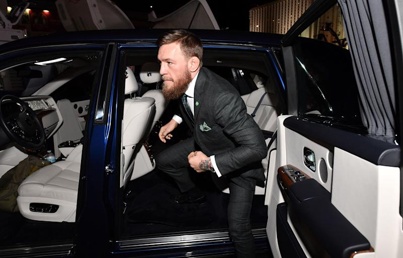 London man alleges Conor McGregor grabbed his phone and stomped on it
