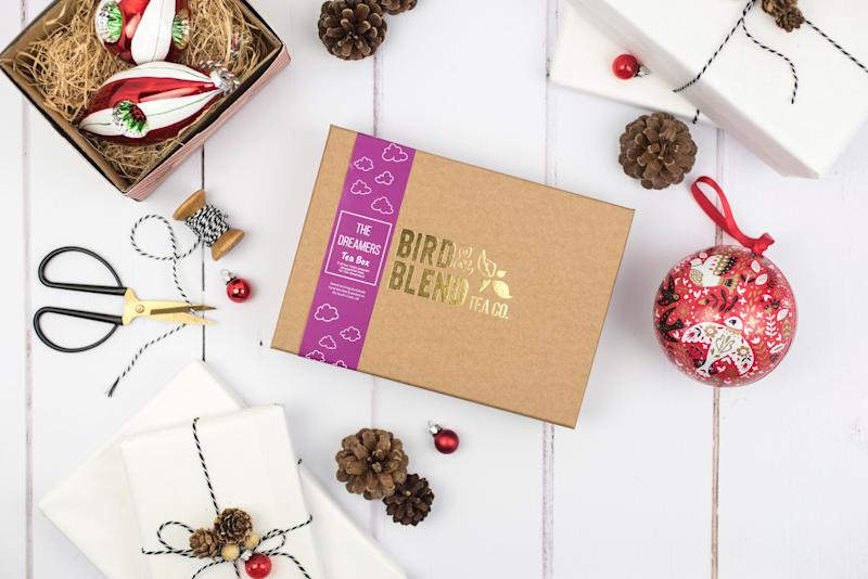 """&nbsp; <a href=""""https://fave.co/34P3V91"""">Sleepytime Tea Gift Box, Bird &amp; Blend Tea Co, Not On The High Street,</a> &pound;20 (Photo: Holly Booth www.hollybooth.com)"""