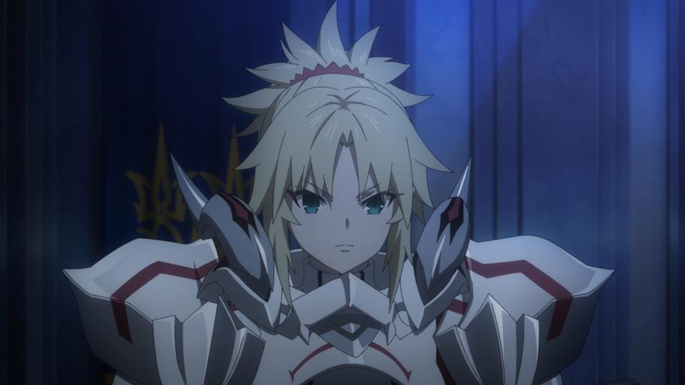 Mordred (Miyuki Sawashiro) in Fate/Grand Order the Movie — Divine Realm of the Round Table: Camelot — Wandering; Agateram. (PHOTO: Odex)