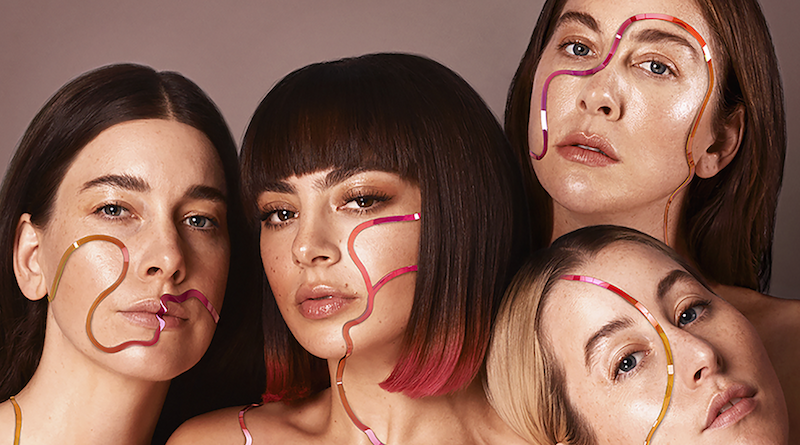 "Charli XCX and HAIM cozy up on new song ""Warm"": Stream"