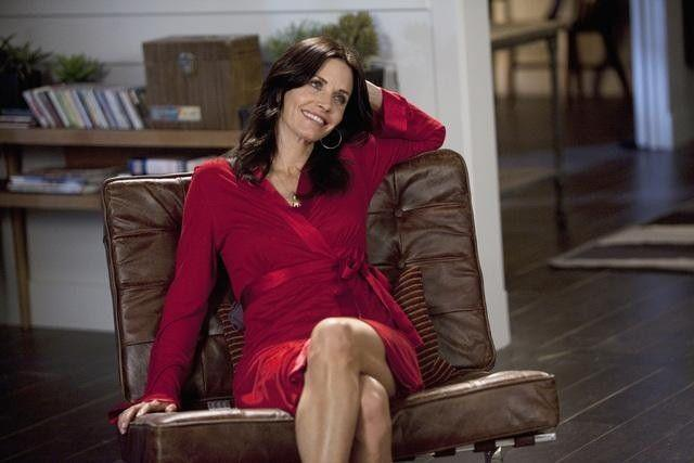 <p>Once you get past the terrible name, you'll see how tremendous Courteney Cox is as Jules Cobb on <em>Cougar Town</em>. A newly divorced single mom who is trying to date (often younger men, hence the title of the show). Jules is effortlessly relatable, and is a smidge like Monica, but with a lot more wine.<br></p>