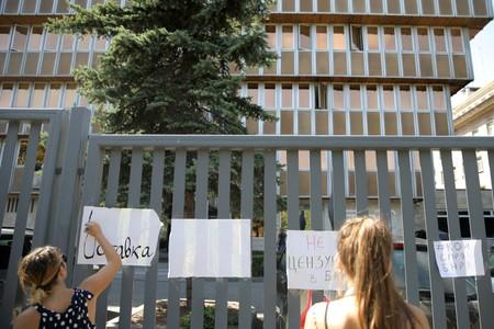 Bulgarian journalists protest over freedom of speech