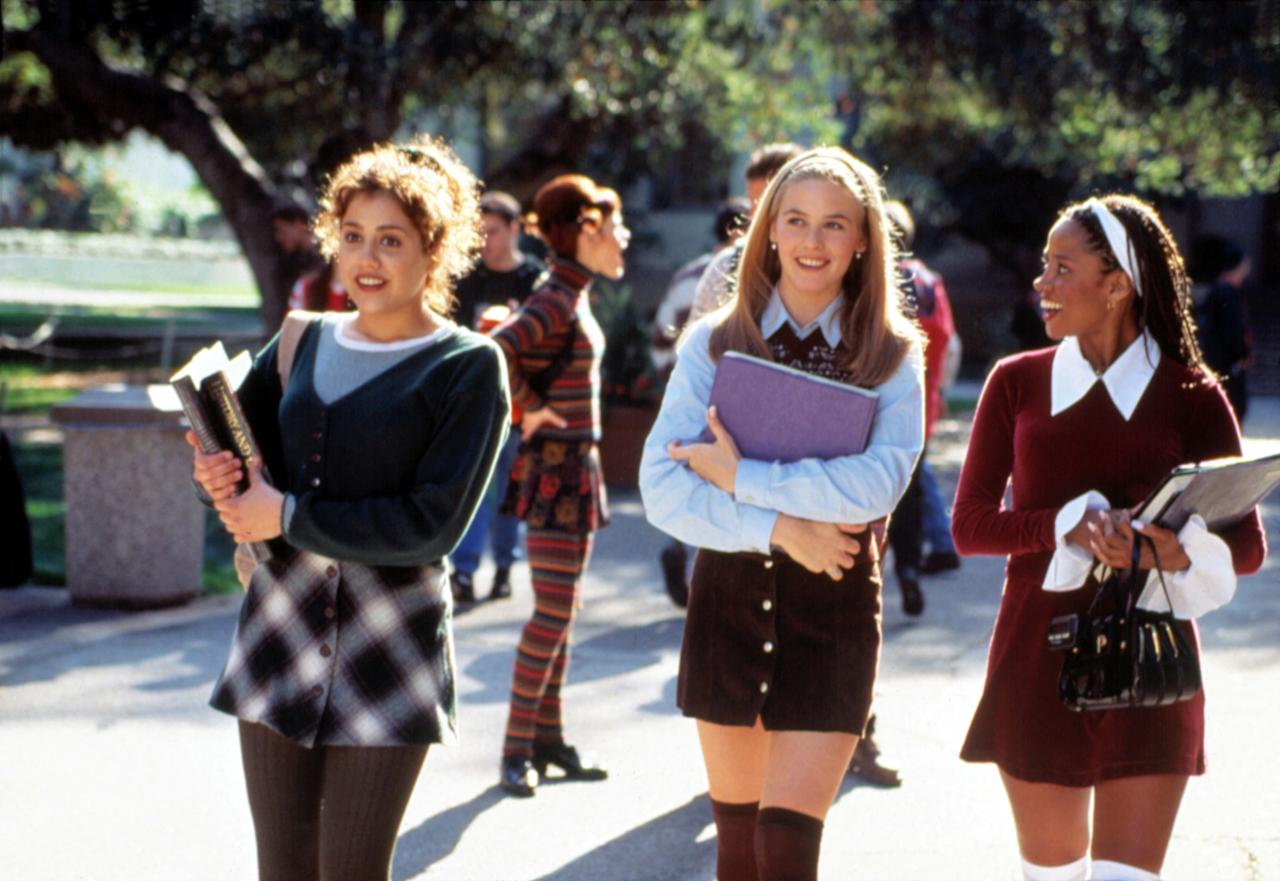 Instead of picking one of those obvious sweater vests from this iconic '90s rom-com, I'm opting instead for something a little less predictable. Unpopular opinion? Dionne Davenport is the real fashion icon of <em>Clueless</em>, not Cher. And this red sweaterdress? Timeless. <em>As if</em> you would pass up this modern version from Urban Outfitters.