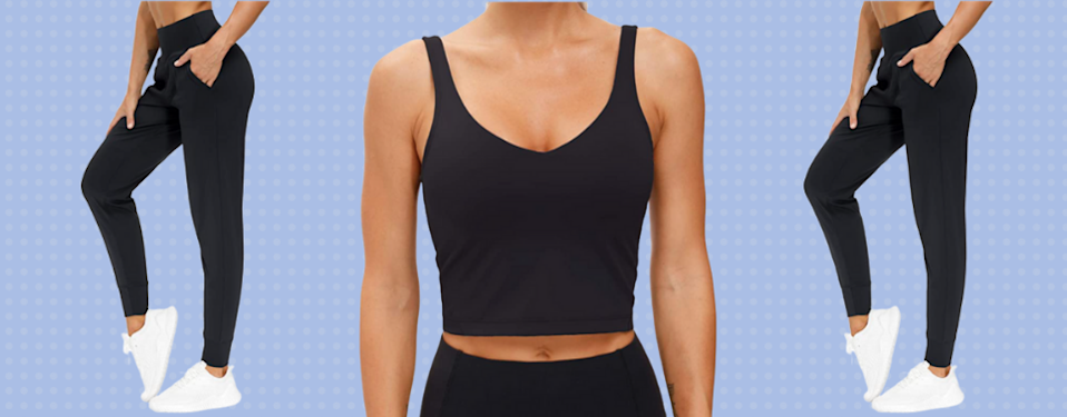 Get an entire athleisure outfit for just $35 today. (Photo: Amazon)