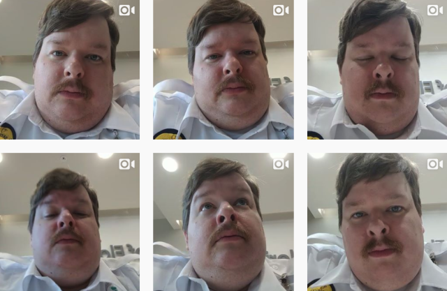 Doug, who goes by the name Paul Flart on his Instagram, was fired from his job as a security guard in Florida because of his viral farting videos. (Photo: paulflart via Instagram)