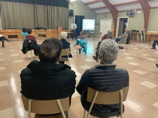 A seniors' group in Tignish recently took in a workshop about fraud risks.