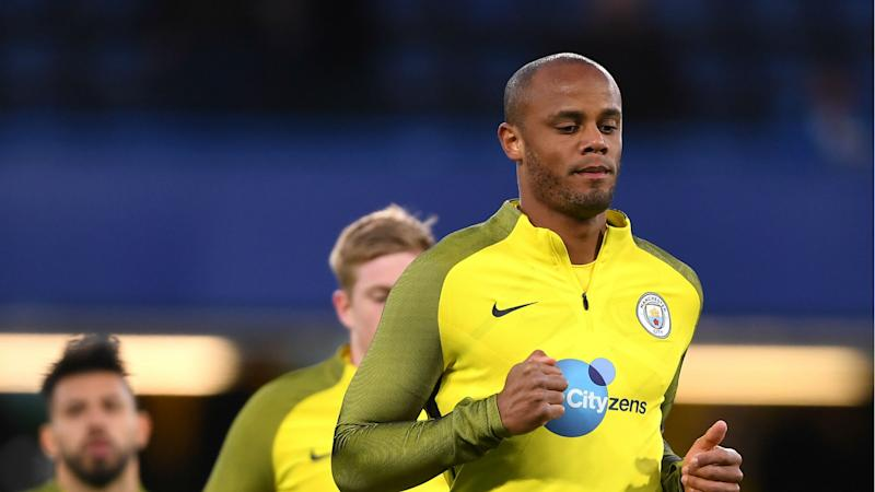 Guardiola to assess Kompany and Delph before Manchester City face Hull