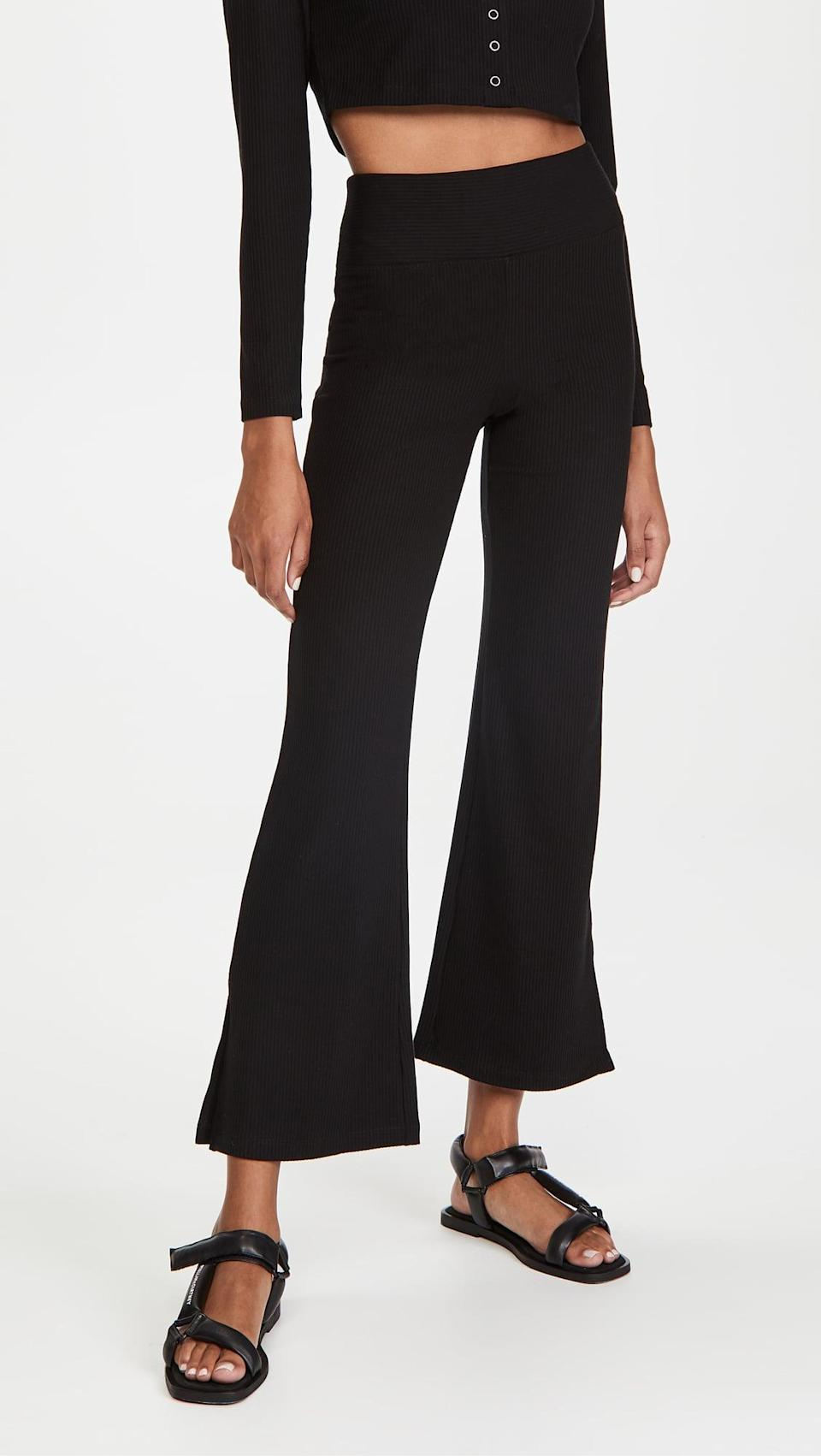 <p>Stretchy pants are always a must and these <span>Year of Ours Flight Pants</span> ($90) are at the top of my wish list.</p>
