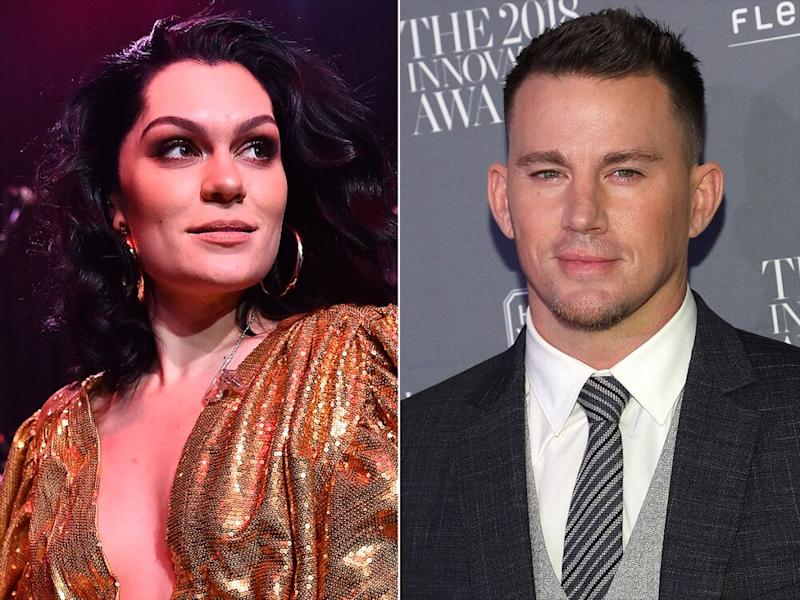 Jessie J; Channing Tatum | Paras Griffin/Getty; Taylor Hill/WireImage