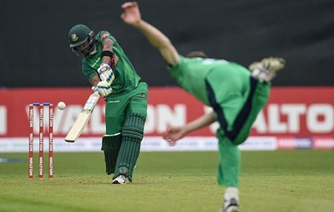 Bangladesh beat Ireland by 8 wickets in tri-series