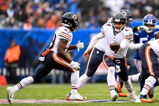You can have a day in Week 14 like Tarik Cohen's in Week 13, using our content hub. (Photo by Sarah Stier/Getty Images)