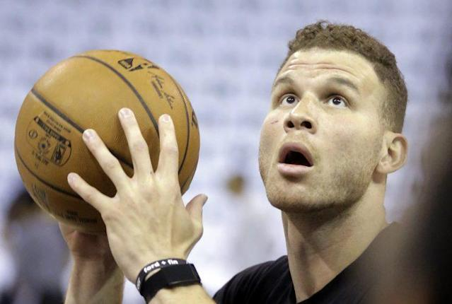 "<a class=""link rapid-noclick-resp"" href=""/nba/players/4561/"" data-ylk=""slk:Blake Griffin"">Blake Griffin</a> considers a future without Chris Paul. (AP)"