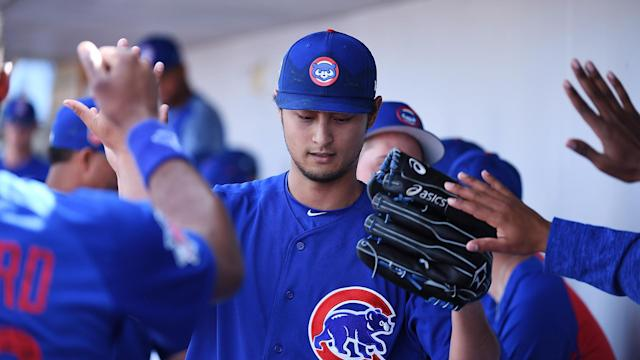 The Chicago Cubs are unsure just when pitcher Yu Darvish will be ready to return.